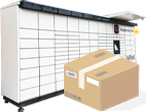 Cartons for parcel machines